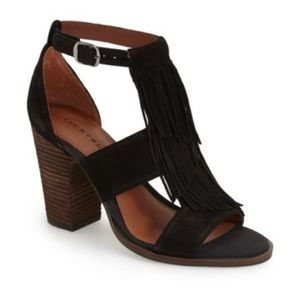 Lucky Brand Shoes - Lucky Brand Suede Leesha Sandals